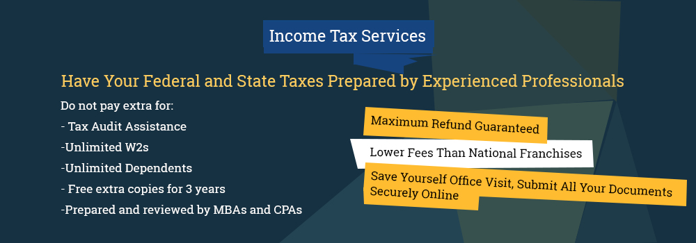 2018 Income Tax Banner